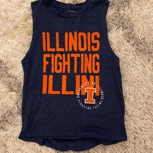 🆕NWT ladies university of Illinois tank top